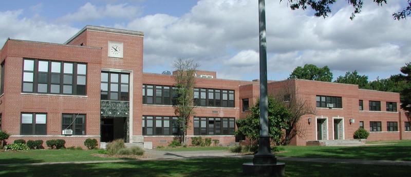 Exterior of Westfield High School