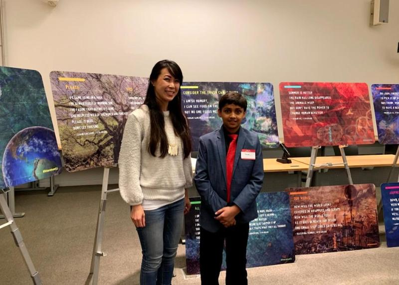 Moreland Middle School Student Recognized in  City of San Jose Poetry Competition Thumbnail Image