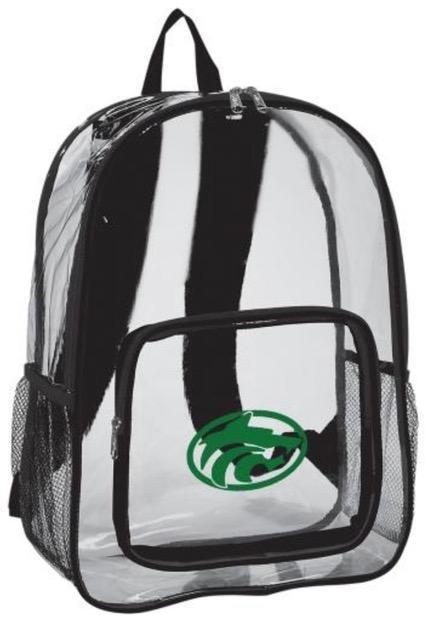 Buford Clear Backpack