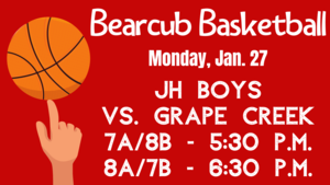 Bearcub Basketball