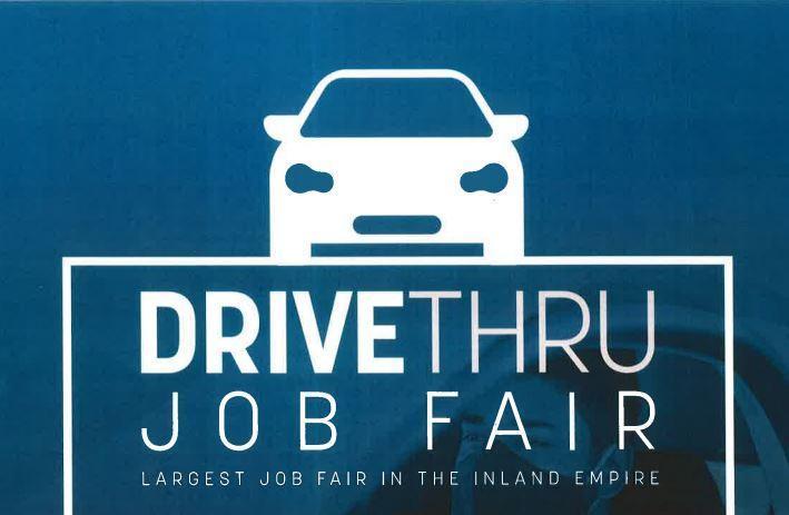 Job fair sign