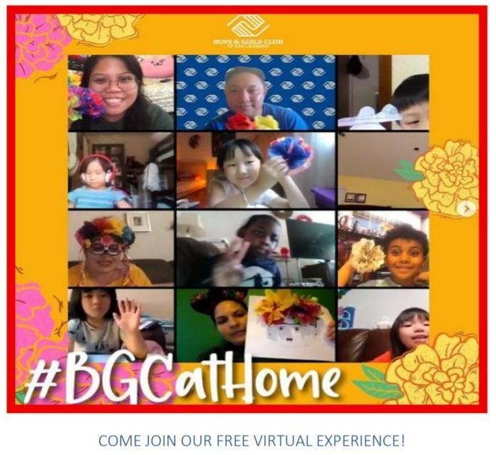 Boys and Girls Club Virtual Program Featured Photo