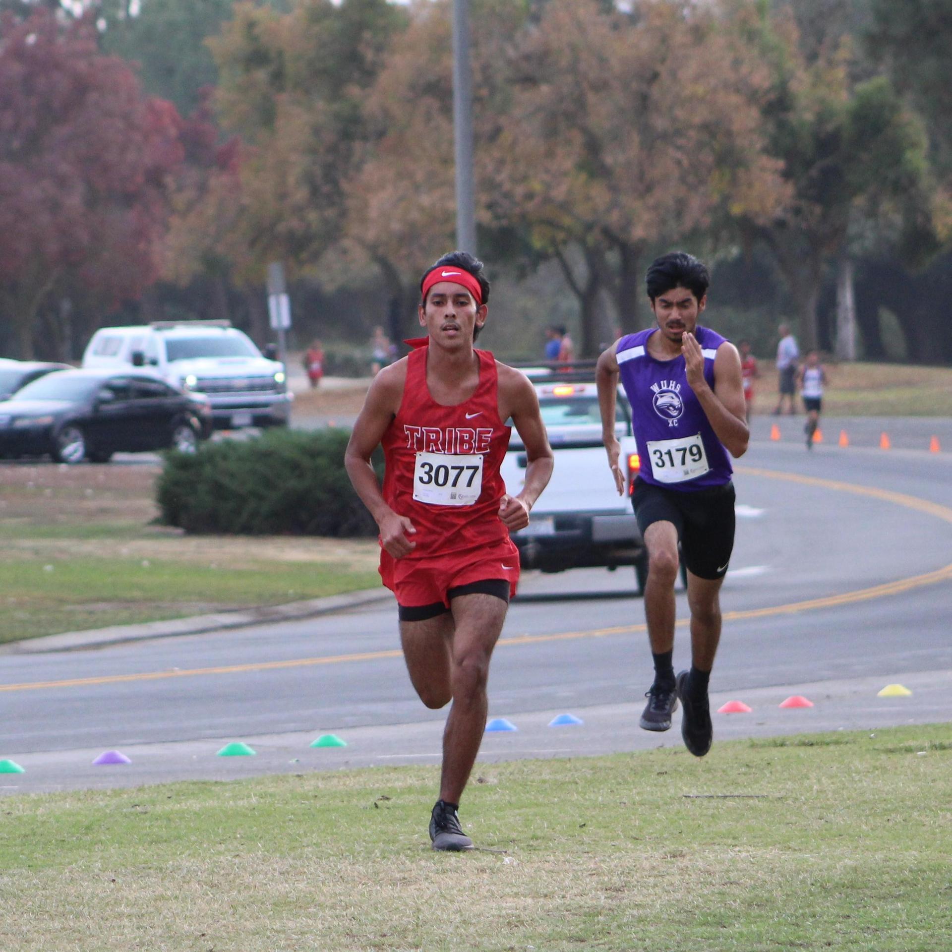 Nicholas Martinez running