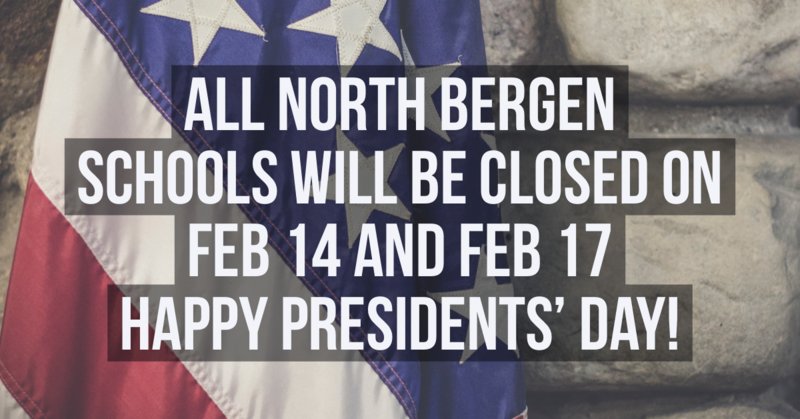 North Bergen School Closing Dates