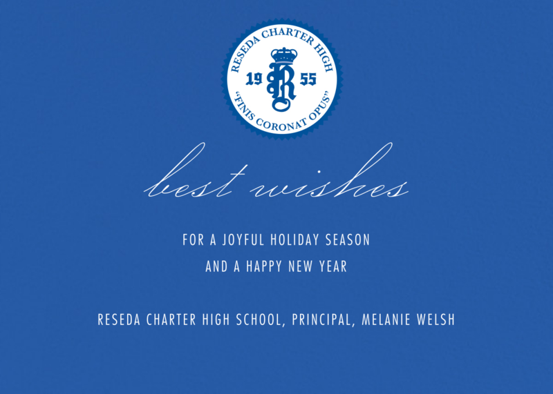 We wish all of our Reseda Charter students and their families a happy an peaceful holiday season. Featured Photo