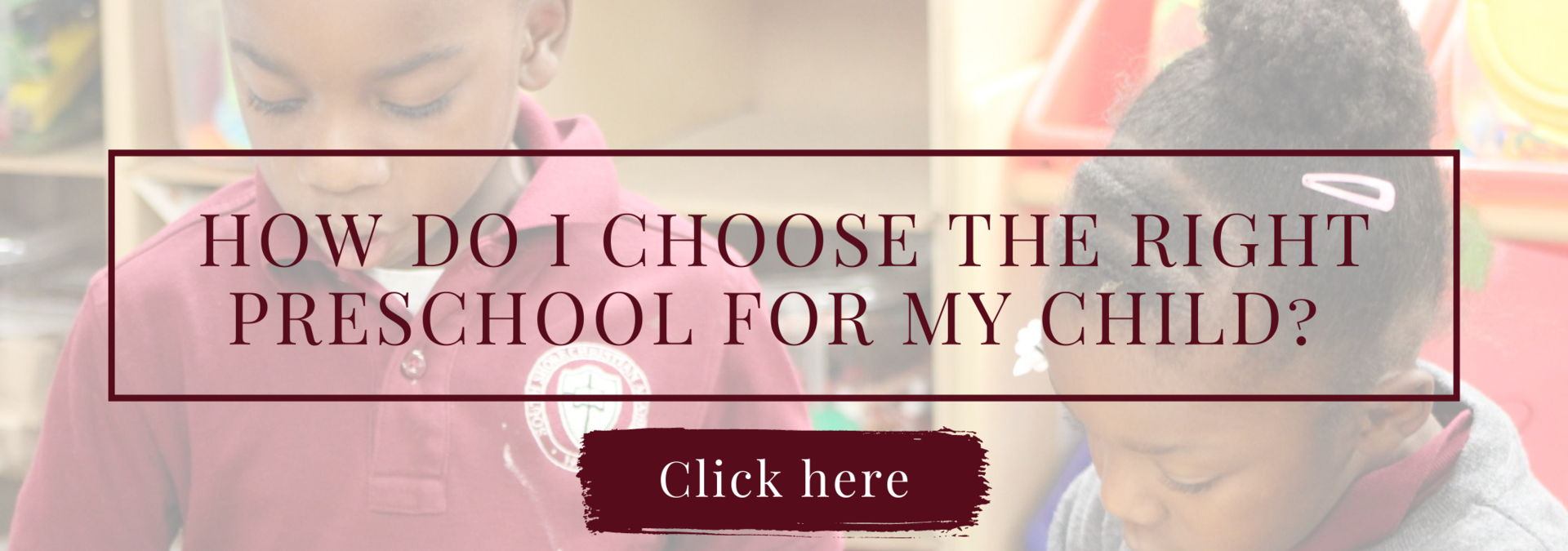 How do I choose the right preschool for my child?