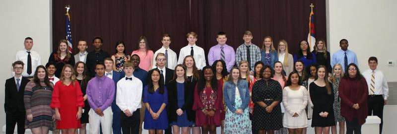 NTHS Induction Ceremony Featured Photo