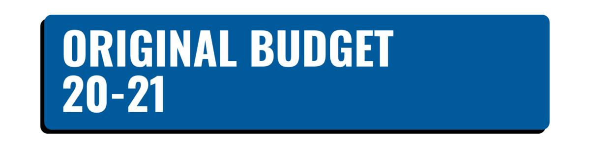 Original Budget 20-21