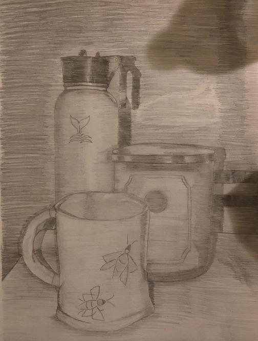 Textured Value Drawing 8