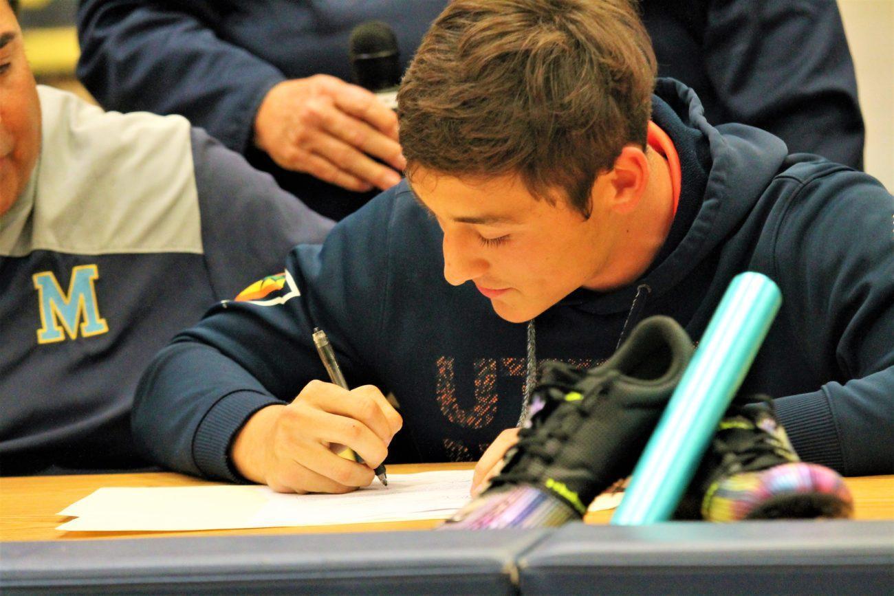 Sean's Signing