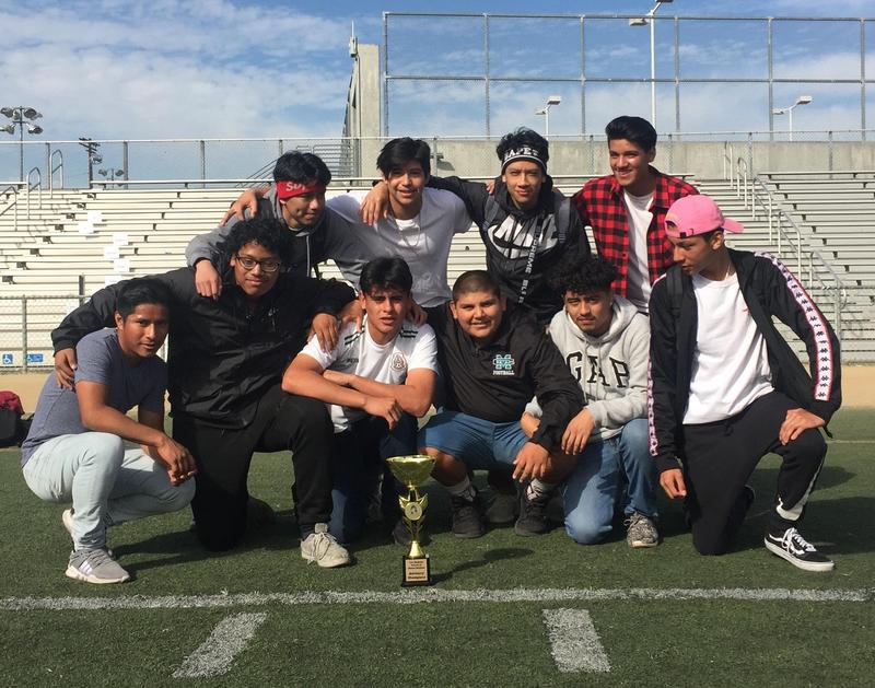 Mr. Smith's Advisory wins Soccer Tournament! Featured Photo