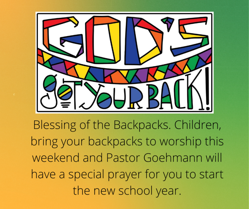 Backpack Blessing Featured Photo