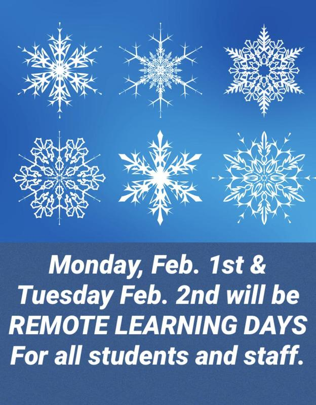 ALERT! BUILDING CLOSED DUE TO SNOW-REMOTE LEARNING FOR ALL Featured Photo