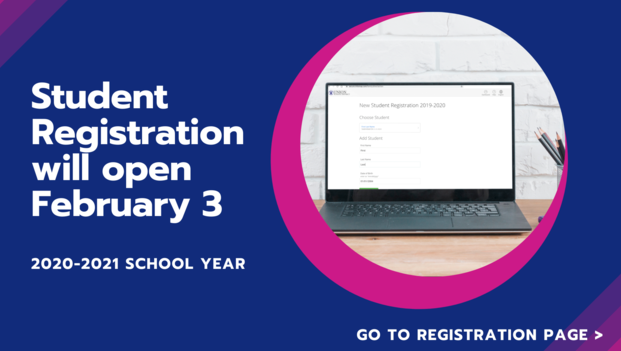 2020-2021 New Student Registration Now Open Featured Photo