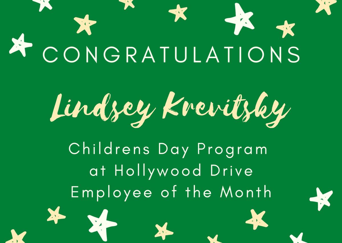 Lindsey Krevitsky Employee of the Month