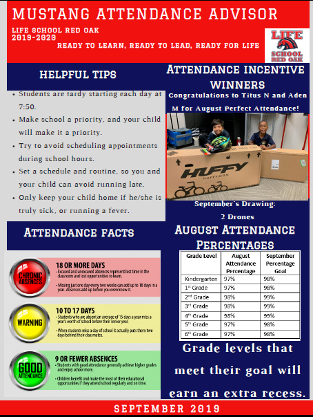 September Attendance Advisor Featured Photo