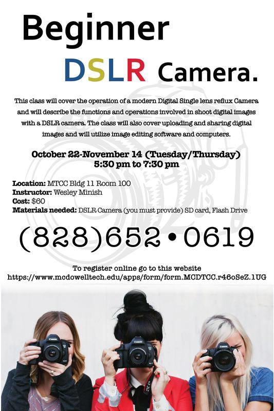 DSLR class information