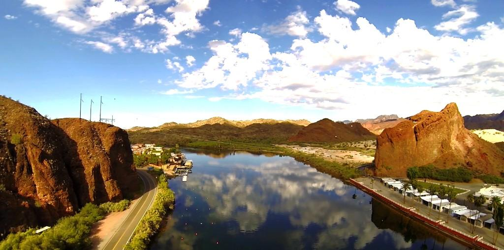 Colorado river in Parker