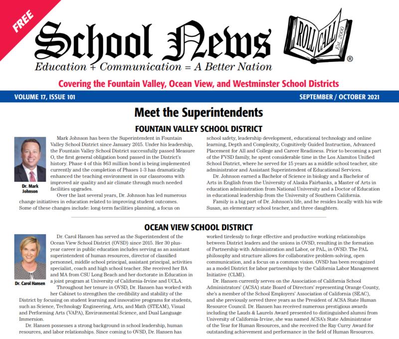 School News: September 2021 Featured Photo