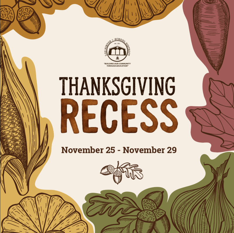 Thanksgiving Recess Featured Photo