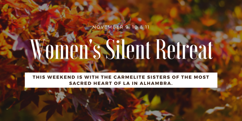 Save the Date - Women's Silent Retreat Featured Photo