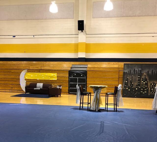 Homecoming dance seating