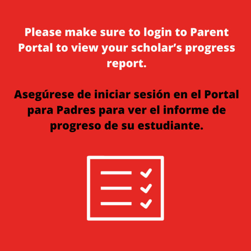 progress reports/  Los informes de progreso