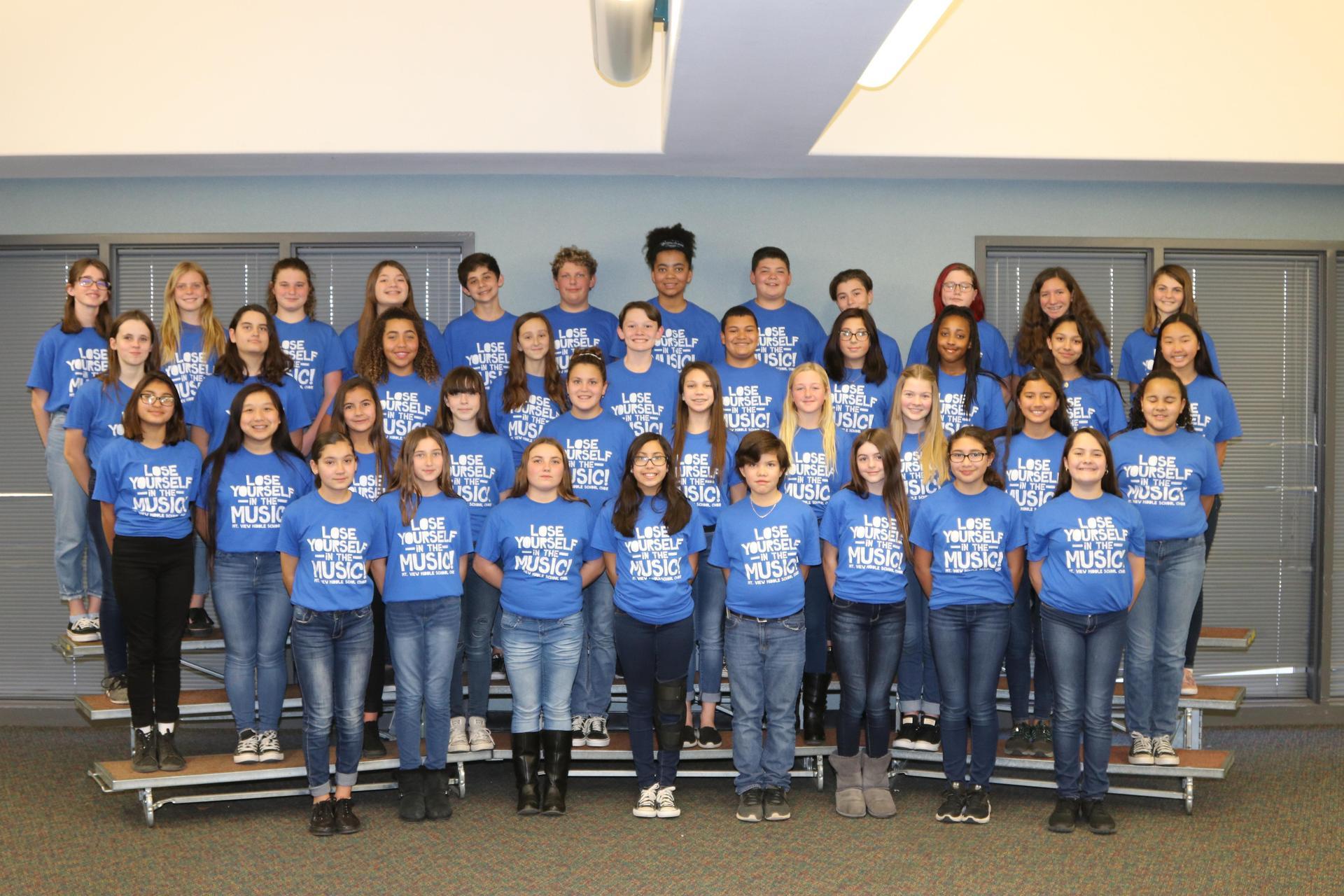 Choir group photo