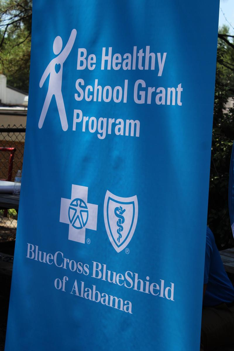 blue sign for blue cross blue shield
