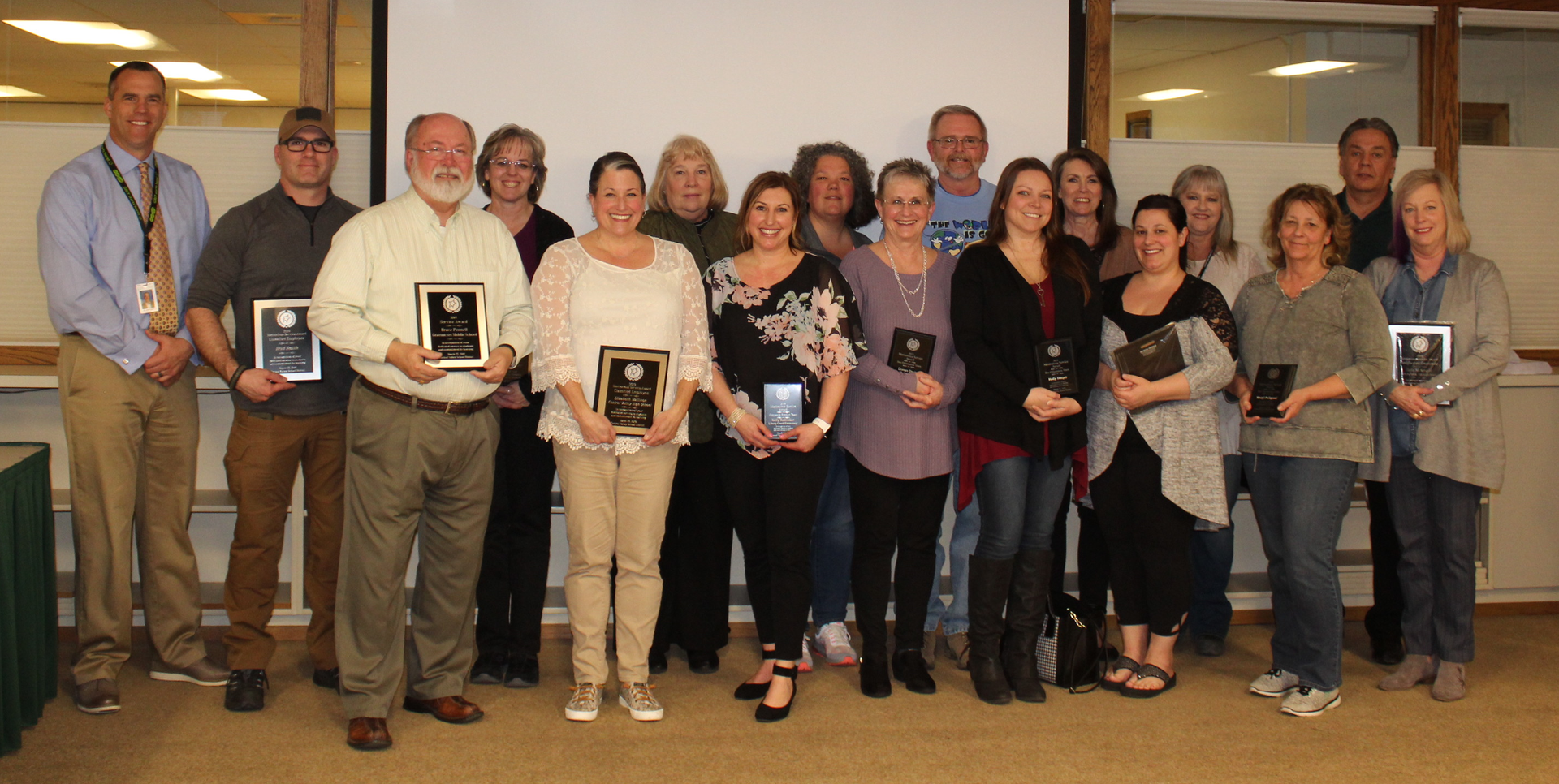 2019 District-wide Meritorious Recipients