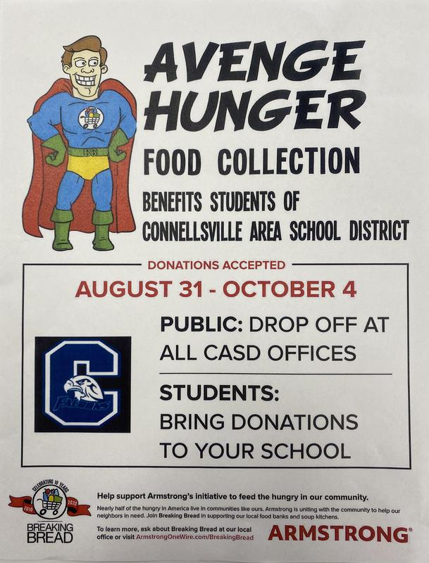 Avenge Hunger Food Collection Featured Photo