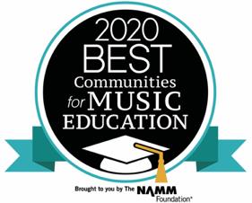 2020 Best Communities for Music Edu.
