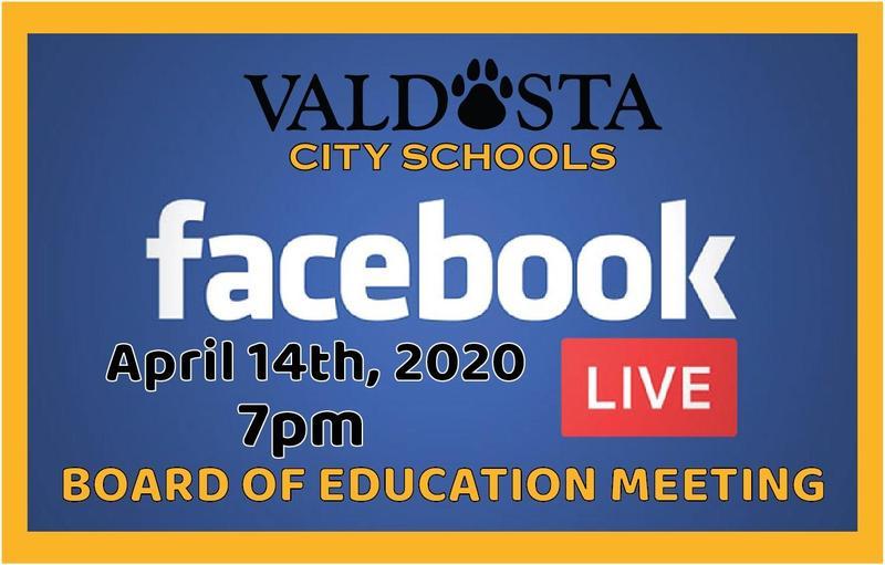 VCS Facebook Live Notice
