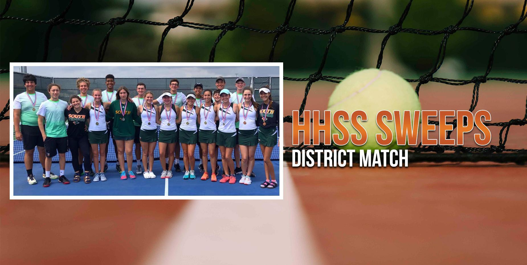 HHSS Sweeps District Match