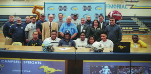 Campbell Speights signs with Navy 2