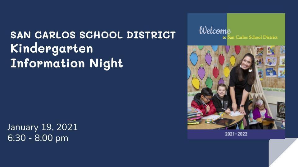 Kindergarten Information Night Image
