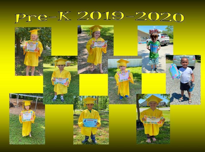 Pre-K grads 2019-2020