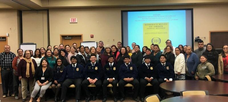FFA members conducted a Parliamentary Procedure workshop at Region One Featured Photo