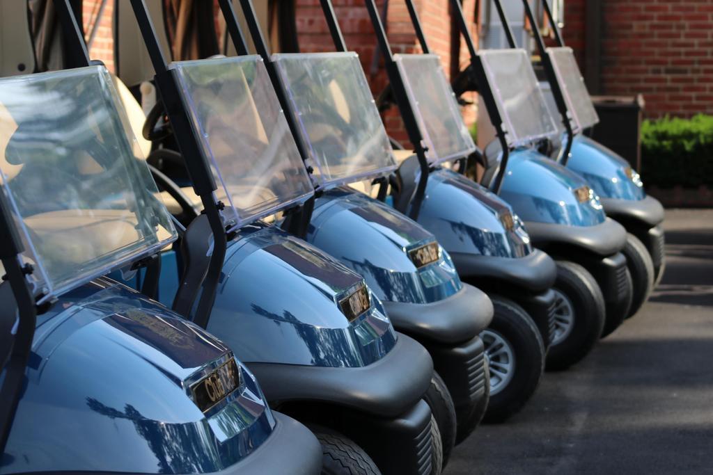 DDI golf outing golf carts