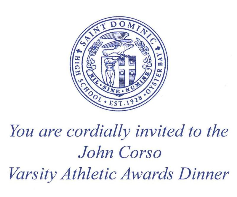 John Corso Varsity Athletic Awards Dinner Featured Photo