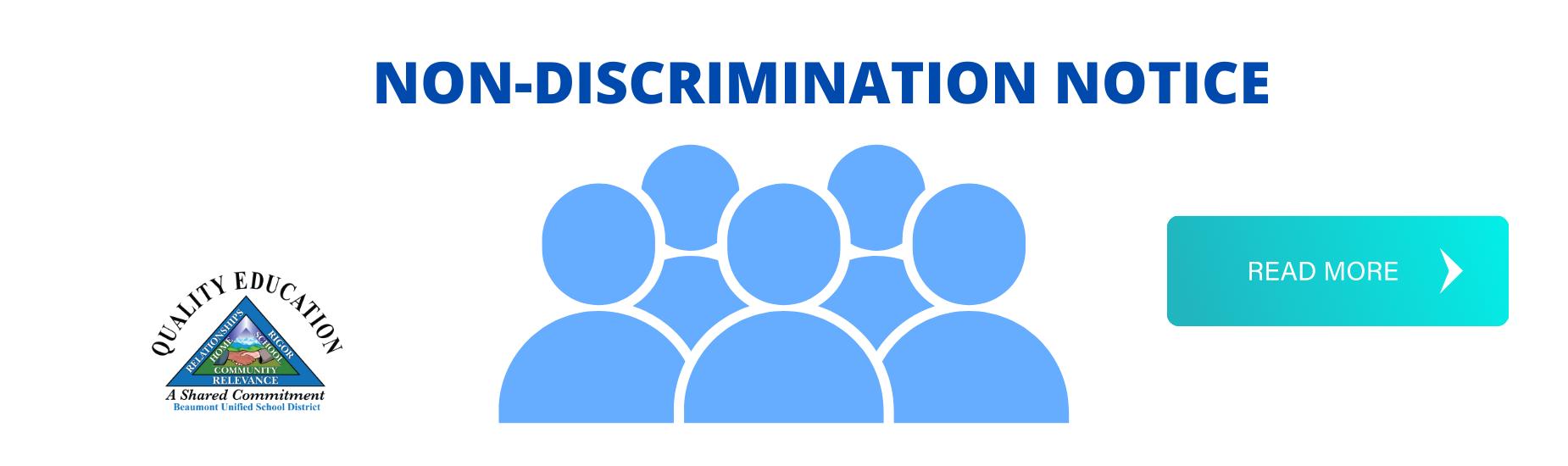 Non-Discrimination Notice