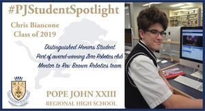 Chris Biancone Student Spotlight