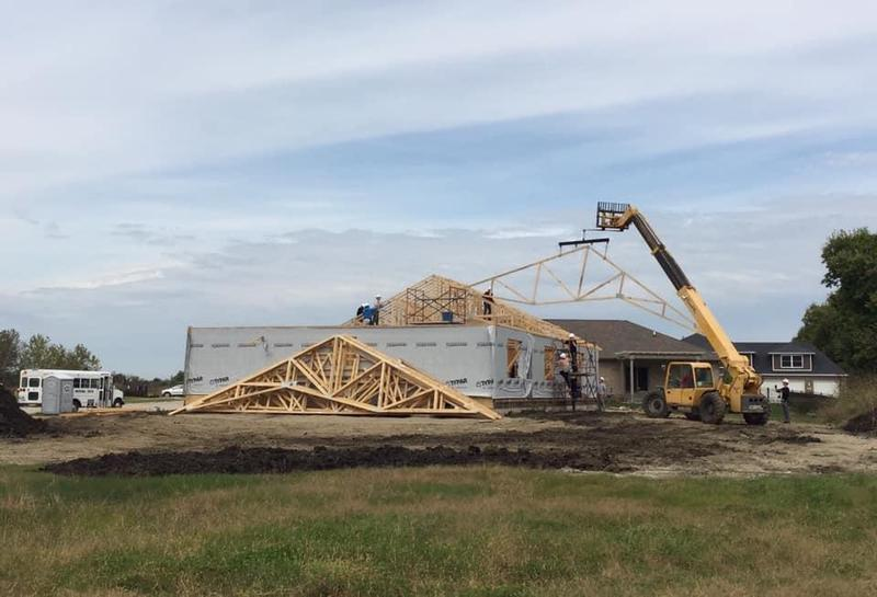 Framing of Project House 25