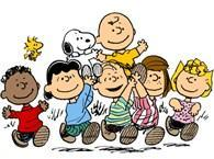 Charlie Brown and friends graphic