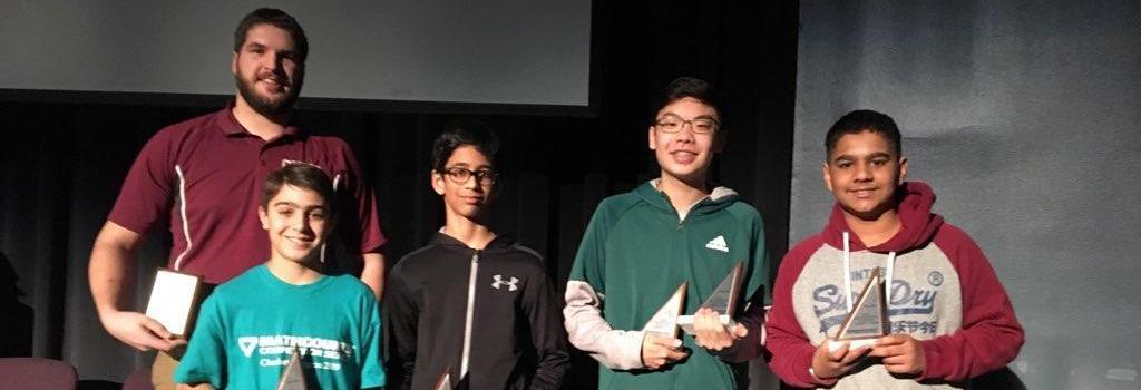 Math Club 2nd Place Winners