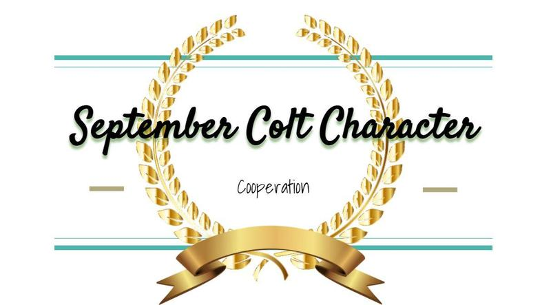 WSMS Announces September Colt Character Winners Featured Photo