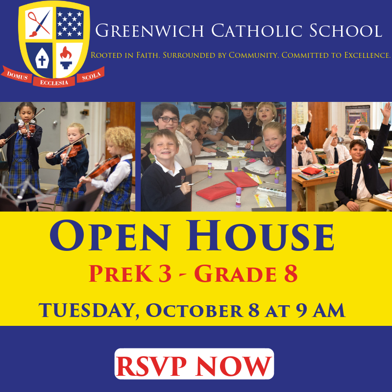 Join us for an Admissions Open House on October 8th! Thumbnail Image