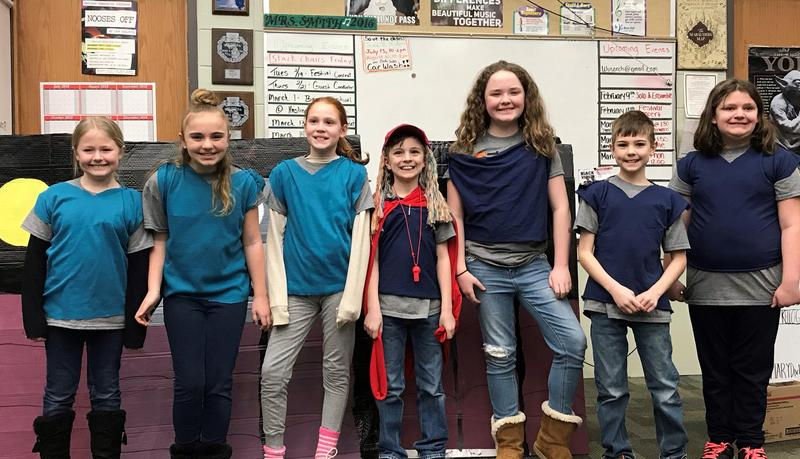 This Odyssey of the Mind team from Page Elementary team earned first place at regionals and will advance to the state finals.