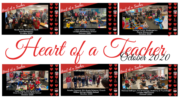 Message from Mike: October Heart of a Teacher Featured Photo