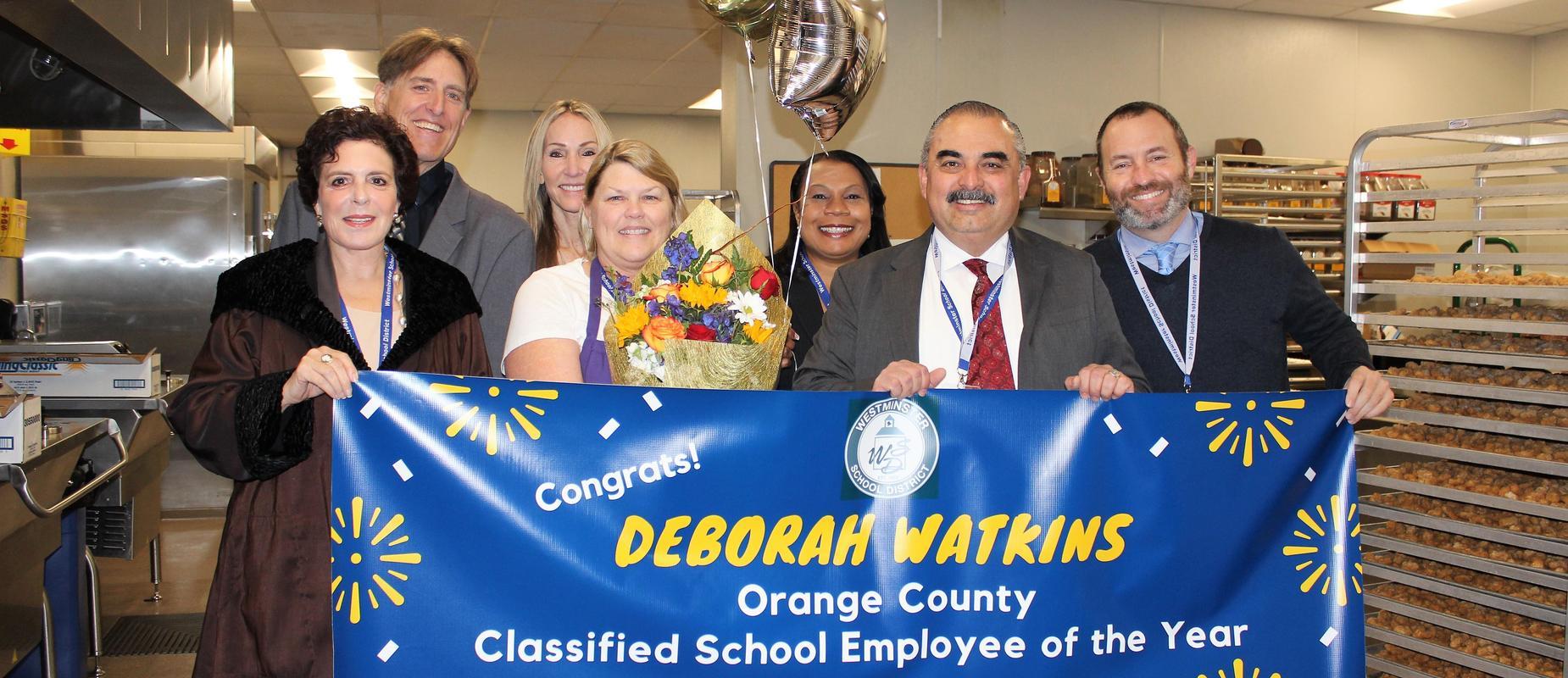 Orange County Classified School Employee of the Year